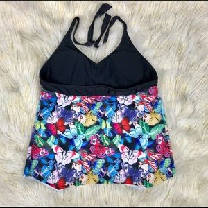 Other - Women Tiki Swim Top Butterfly Print Size L